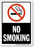 No Smoking (symbol) Sign