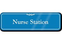 Nurse Station Showcase Hospital Sign