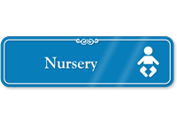 Nursery Hospital Showcase Sign