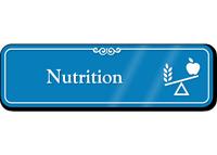 Nutrition Hospital Showcase Sign