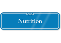 Nutrition Showcase Hospital Sign