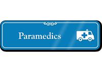 Paramedics Ambulance Showcase Hospital Sign