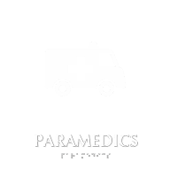 Paramedics TactileTouch Braille Hospital Sign
