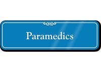 Paramedics Showcase Hospital Sign