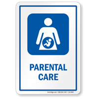Parental Care Hospital Sign