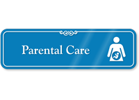 Parental Care Hospital Showcase Sign