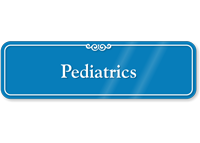 Pediatrics Showcase Hospital Sign