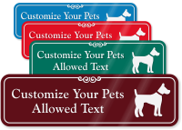 Pets Allowed Symbol Sign