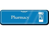 Pharmacy Rx Showcase Hospital Sign