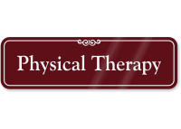Physical Therapy ShowCase Wall Sign