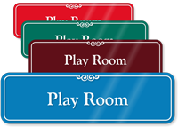 Play Room Showcase Hospital Sign