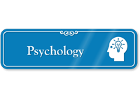 Psychology Hospital Showcase Sign