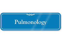 Pulmonology Showcase Hospital Sign