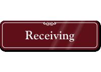 Receiving Sign