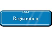 Registration Showcase Hospital Sign
