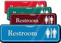 RestroomMan Woman Symbol Sign