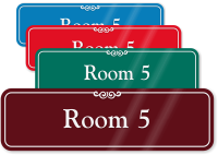 Room 5 Sign