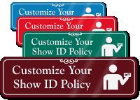 Show ID Symbol Sign
