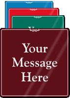 Custom ShowCase™ Sign