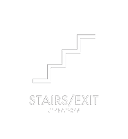 Stairs Braille Nexus Regulatory Sign