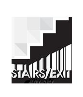 Stairs Exit Optik Regulatory Sign