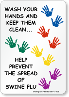 Wash Your Hands Help Prevent Spread of H1N1