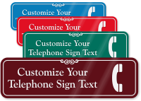 Telephone Symbol Sign