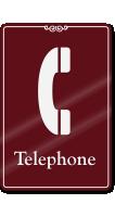 Telephone (with telephone symbol)