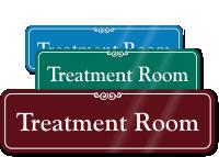Treatment Room ShowCase Wall Sign