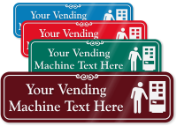 Vending Machine Symbol Sign