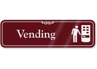 Vending (with symbol)