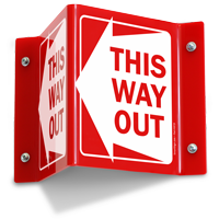 This Way Out (with Left Arrow)