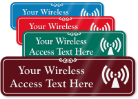 Wireless Access Point Symbol Sign