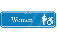 Women Sign with Woman and New ISA Symbol