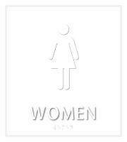Women Bathroom, Women Sign