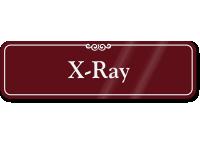 X-Ray ShowCase Wall Sign