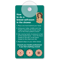 How To Do Breast Self-Examination Suction Cup Tag