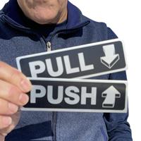 Pull Push Signs Set