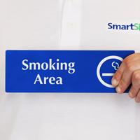 Smoking Area (with symbol)