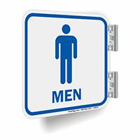 Men Restroom Symbol Sign