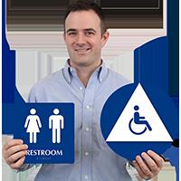 ISA Women Men Pictograms Sign