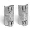 Double Sided Sign Wing Bracket Pair