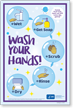 Wash Your Hands Sign Panel