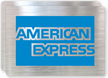 American Express Logo Glass Decal