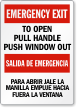Bilingual To Open Pull Handle, Push Window Label
