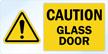 Vinyl Glass Door Awareness Decal