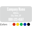 Custom Single-Sided Static Cling Label