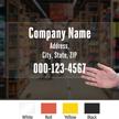 Custom Die Cut Label