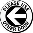 Vinyl Glass Door Decal