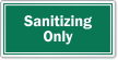 Sanitizing Only Restaurant Hygiene Label